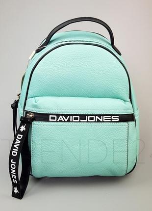 #5989-2 green david jones стильный качественный рюкзак!