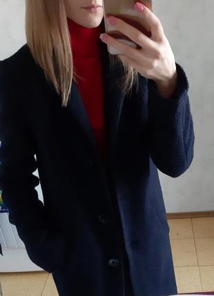 Скидка только сегодня!крутое шерстяное пальто
