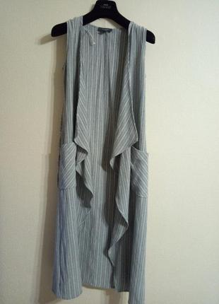 Удлиненный жилет