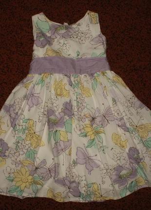 Платье tu р. 6 лет