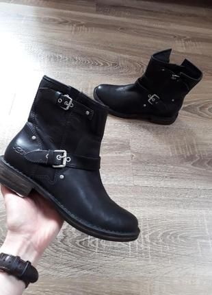 Кожаные ботинки ugg australia fabrizia оригинал p.382 фото