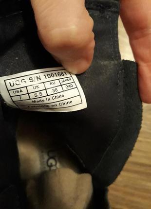 Кожаные ботинки ugg australia fabrizia оригинал p.385 фото