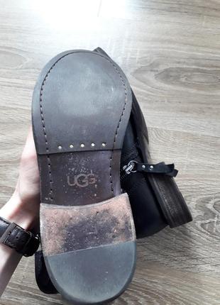 Кожаные ботинки ugg australia fabrizia оригинал p.386 фото