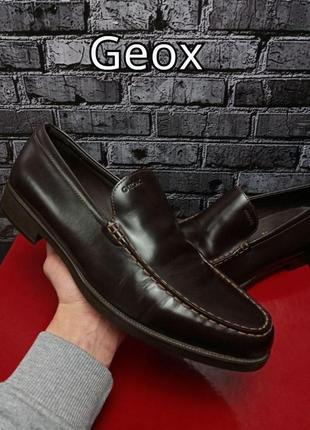 Кожаные туфли geox оригинал