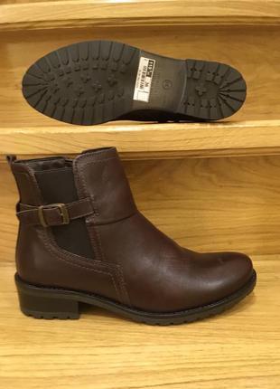 Стильні шкіряні черевички caprice