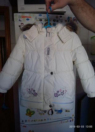 Курточка, куртка, пуховик lenne 92+6