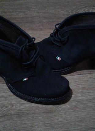 🔷 кожа ботинки , боти 🔷