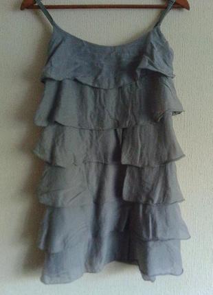 Красивенный фирменный летний сарафан-мини платье-короткое платье от h&m1