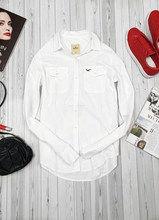Белая рубашка батник белоснежная2