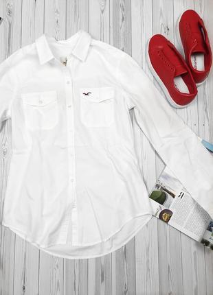 Белая рубашка батник белоснежная3