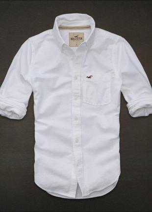 Белая рубашка батник белоснежная1