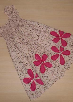 Нарядное платье, сарафан bluezoo 5 лет, 110 см, оригинал