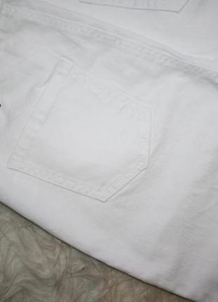 Базовые белые джинсы скинни7
