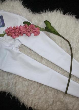 Базовые белые джинсы скинни5