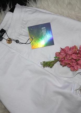 Базовые белые джинсы скинни4