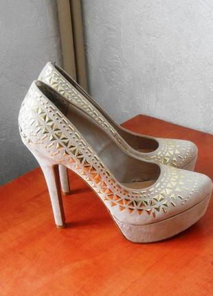 Нарядные и красивые туфли new look, р.38 код k3808