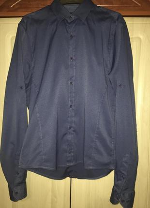 Синяя рубашка