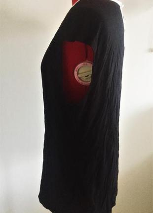 """Топ блуза  b&w с акцентным декольте и застежкой """"замочная скважина """", xl на 50-52 рр9"""