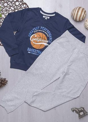 Комплект толстовка и штаны для мальчика piazza italia италия
