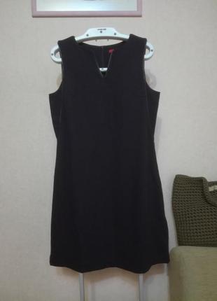 Фирменное качественное платье с кожаными вставками s.oliver, р.10 (8/12)