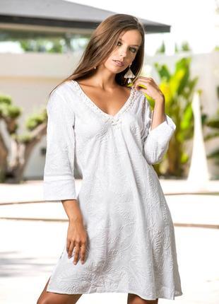 988be76c13b Белые платья Indiano 2019 - купить недорого вещи в интернет-магазине ...