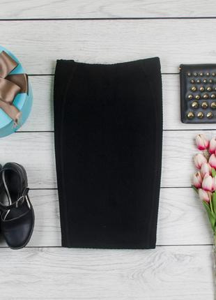 Черная миди  юбка от george рр 14 наш 48