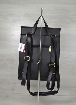 7 цветов! женская трендовая сумка рюкзак стильный рюкзачок минимализм4
