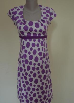 Красивое брендовое платье из котона