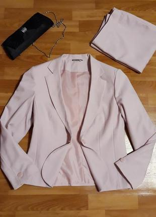 Брендовый костюм, юбка и пиджак, брендовый жакет, классика!