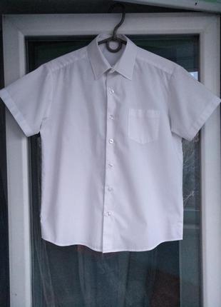 """Шведка """"george"""" р.140-146 мальчику 10-11лет, рубашка белая школьная"""