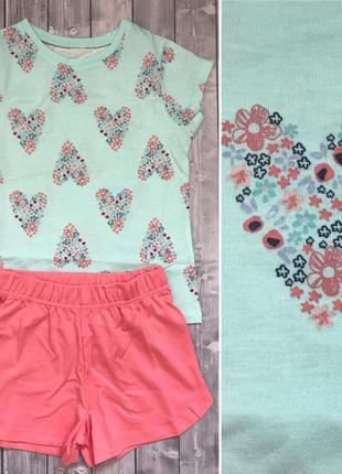 Новая трикотажная пижама george 2-3 года