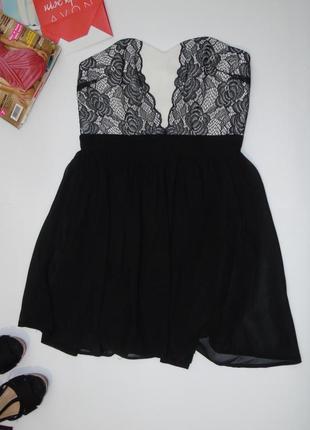 501b40db466 Красивое платье бюсть с кружевом