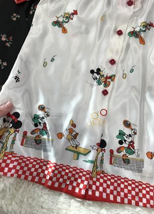 d91731e484f ... Шелковая пижамная кофта с микки маусом disney ❤️2 фото ...