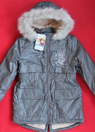 Куртка-парка disney для девочки 5-6 лет.