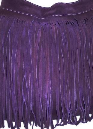 Vip !стильная большая сумка натуральная замшевая кожа tamburini италия