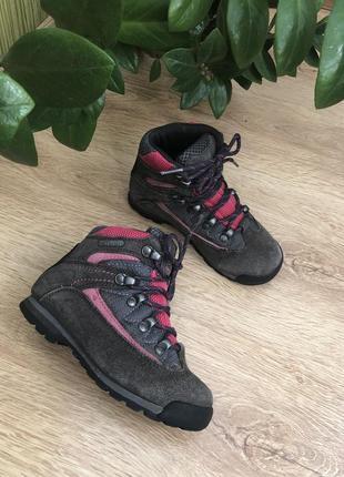 Фирменные треккинговые ботиночки 18 см