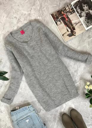 Уютный свитер в сером цвете  sh1910140  george
