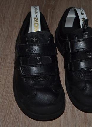 Кожаные туфли мальчику clarks 31р 19.5см