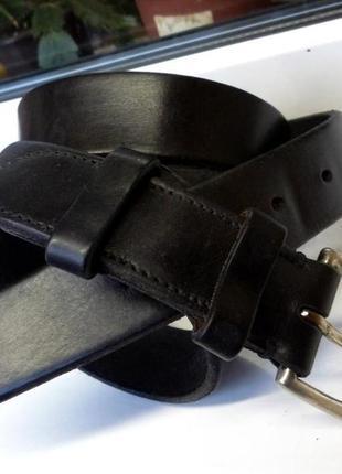 """Легендарный прочный кожаный ремень """"polo ralph lauren"""", сша, оригинал, 100 см.."""