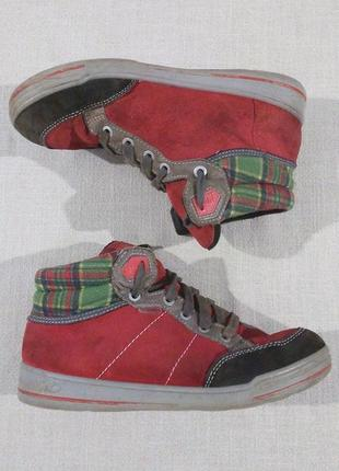 Гарні теплі кеди черевики