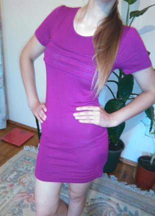 Милое платье цвета фуксии