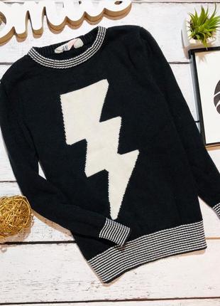 Крутой свитерок h&m 7-8 лет (122-128)