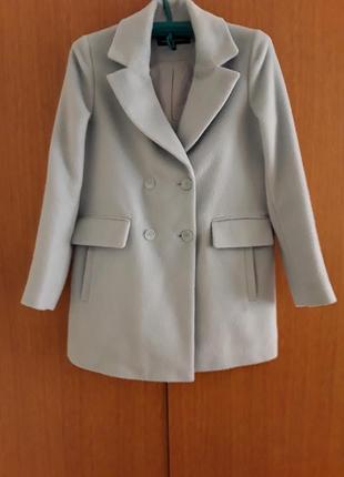 Голубое пальто бойфренд 5cd7fddf45ead