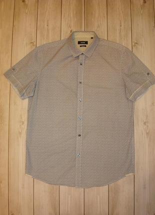 Рубашка приталеная ostin размер m-l