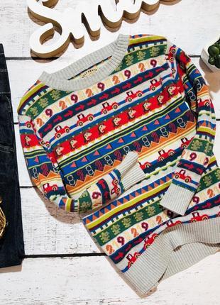 Крутой свитерок next 2-3 года (98)