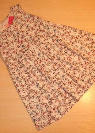 Трикотажное платье, сарафан young dimension, 6-7 лет, 116-122 см, оригинал