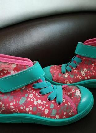 Высокие кеды 26 размер, ботинки