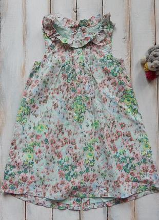 I love next  стильное легкое  платье на девочку 4-5 лет