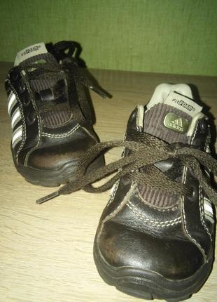 Детские кожаные кроссовки adidas 13,3см