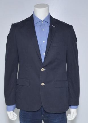 Отличный пиджак блейзер темно синего цвета от sergio (zara, topman, diesel)